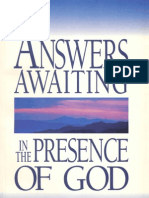 Answers Awaiting in the Presence of God / Creflo Dollar