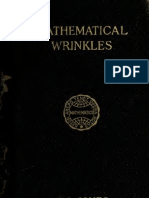 Mathematical Wrinkles for Teachers and Private Learners by SI Jones (1912)