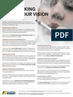 Smoking Harms Vision