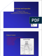 Catalyst Design and Preparation