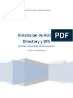 Active Directory y DFS - Windows Server