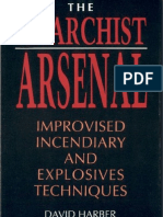 [Chemistry Explosives] the Anarchist Arsenal (Improvised Incendiary & Explosives Techniques) by David Harber (Paladin Press-1990)