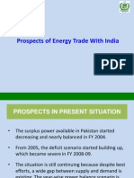 Energy Trade With India