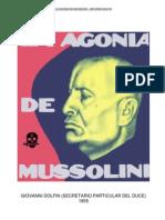 100670933 Giovanni Dolfin La Agonia de Mussolini
