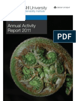 MSI Annual Activity Report 2011