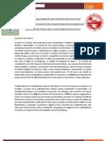 Propuesta para adopción del Comité de Eficiencia Fiscal como Comité Permanente del CGE