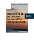 Meditations on the Life & Passion of Our Lord Jesus Christ, Tauler