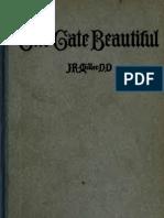 The Gate Beautiful, J.R. Miller (1840)