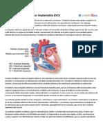 Desfibrilador Cardioversor Implantable