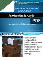 Fabricacion de Adobe 002 ING HASIF