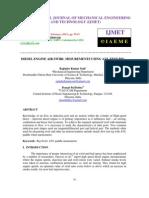 DIESEL ENGINE AIR SWIRL MESUREMENTS USING AVL TEST RIG