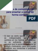 pautas de comunicación