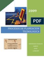 El Proceso de Planeacion Tencologica