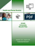 1112 OCADU Benefits Booklet
