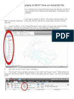 How to generate 3D topo in Revit