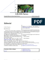GRASS Newsletter vol. 2 (January 2005)