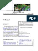 GRASS Newsletter vol. 3 (June 2005)