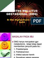 Diabetes Mellitus Gestasional (Dmg)