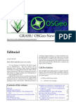 Combined GRASS/OSGeo Newsletter vol. 4 (December 2006)