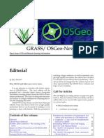 Combined GRASS/OSGeo Newsletter vol. 4 (December 2006)