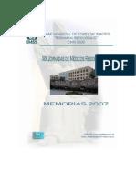 Memorias Xix Jornadas de Medicos Residentes
