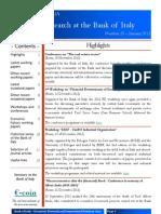 Newsletter Banca Italia