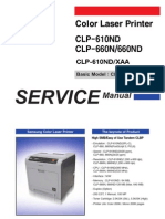 Samsung CLP-610-660 service Manual