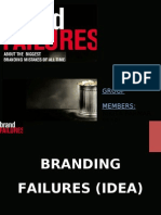 Branding failures