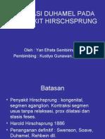 Operasi Duhamel Pada Penyakit Hirschsprung(1)