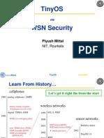TinyOS on WSN Security