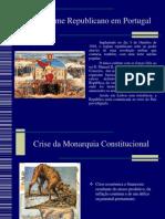 O Regime Republicano Em Portugal
