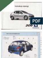 Instrukcja obsługi Peugeot 206