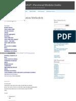 Abap_Code_Optimization_methods & Tech