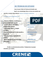 TALLER TÉCNICAS DE ESTUDIO 2