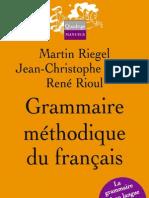 53680880 Grammaire Methodique Du Francais PUF
