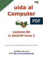 Guida al Computer - Lezione 84 - Il BackUp Parte 2