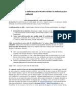 ¿Abrumada por la información- Cómo evitar la infoxicacion (o parálisis por análisis)