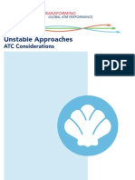 Unstable Approaches - ATC Considerations