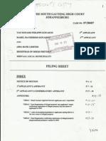 KOUAKOU's High Court Notice of Motion