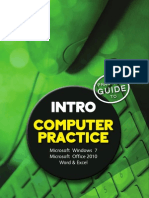The Practical Guide to Computer Practice Intro N4 Office 2010