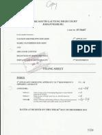 KOUAKOU's Replying Affidavit