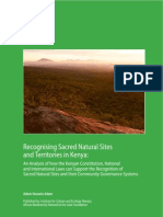 Sacred Natural Sites in Kenya