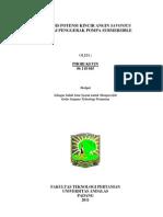 Analisis Potensi Kincir Angin Savonius Sebagai Penggerak Pompa Submersible