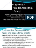Basic of Parallel Algorithm Design