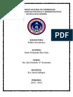 ANÁLISIS DEL PLAN ESTRATÉGICO DE DESARROLLO CANTONAL RIOBAMBA - DÁRIO PILCO