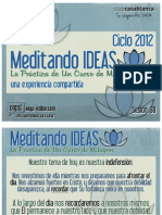 Meditando Ideas #38