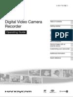 Sony DCR-S65E Handycam Operating Manual
