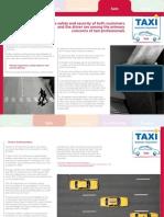 Taxi factsheet – Safe