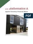 34413697 12 Mathematics a Applied Geometry Financial Maths