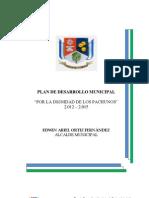 Proyecto de Acuerdo Plan de Desarrollo II Ajustado